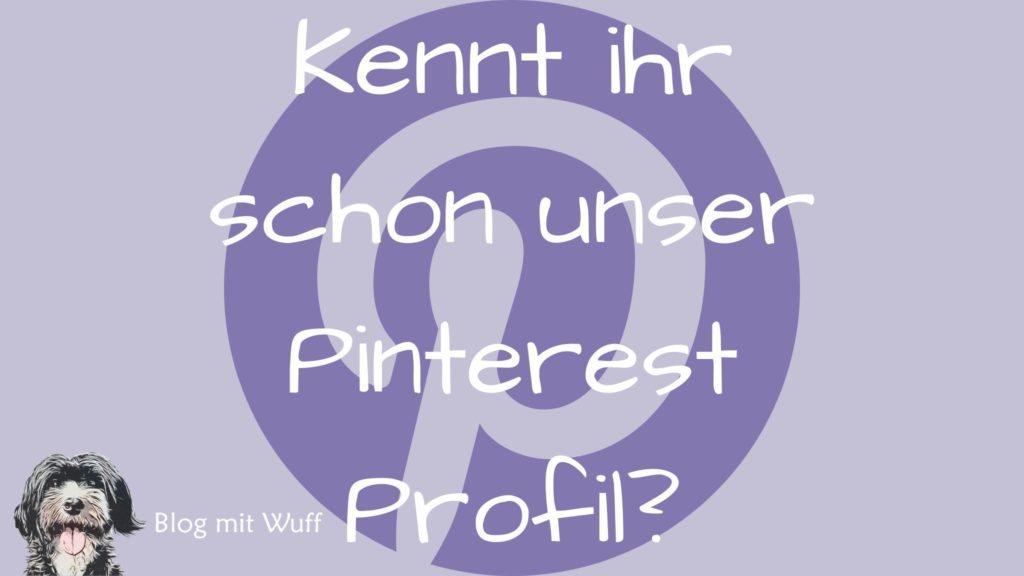 Kennt ihr schon unser Pinterest Profil