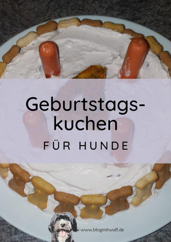 Geburtstagskuchen für Hunde