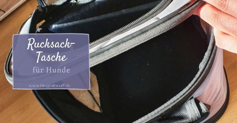 Werbung | Rucksack-Tasche für Hunde