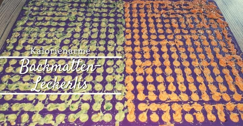 Kalorienarme Backmatten-Leckerlis