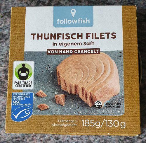 Nachhaltiger Thunfisch mit MSC Siegel