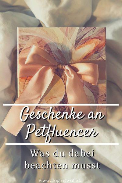 Geschenke an Petfluencer