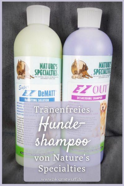 Pin Hundeshampoo Natures Specialties