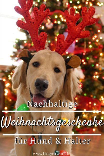 Pin Nachhaltige Weihnachtsgeschenke für Hund und Halter