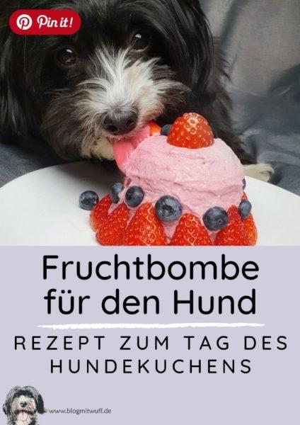 Pin it - Fruchtbombe für den Hund Rezept