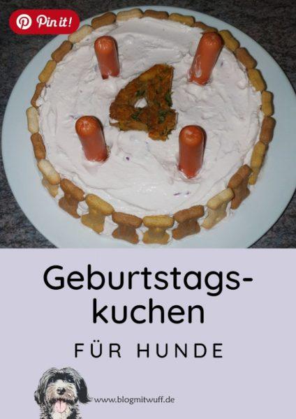 Pin it - Geburtstagskuchen für Hunde
