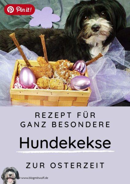 Pin it - Rezept für Hundekekse zu Ostern