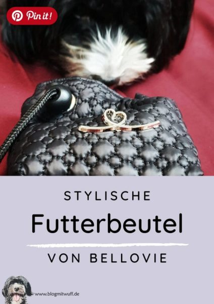 Pin it - Stylische Futterbeutel von Bellovie