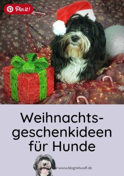 Pin it - Weihnachtsgeschenkideen für Hunde