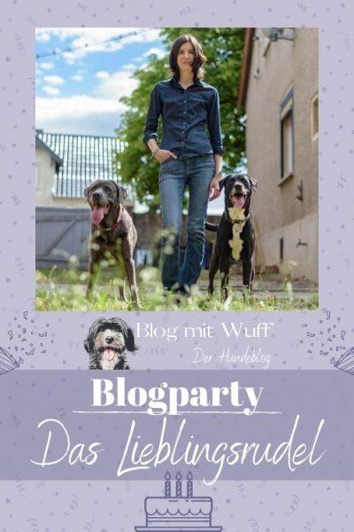 Pin zu Bloggeburtstag mit Lieblingsrudel