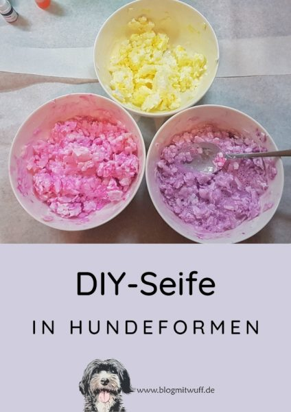 Pin zu DIY-Seife in Hundeformen