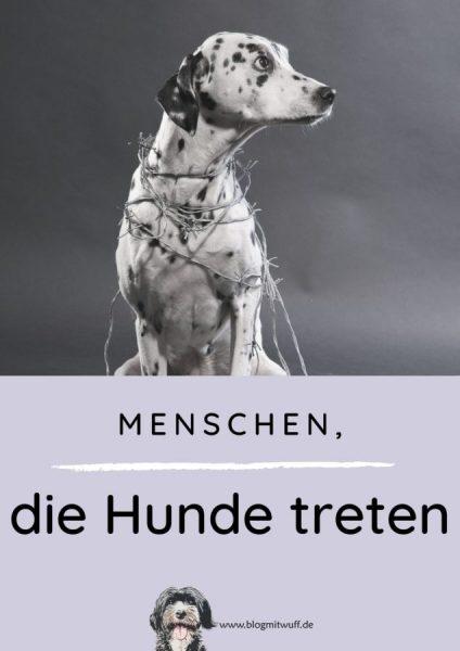 Pin zu Menschen die Hunde treten