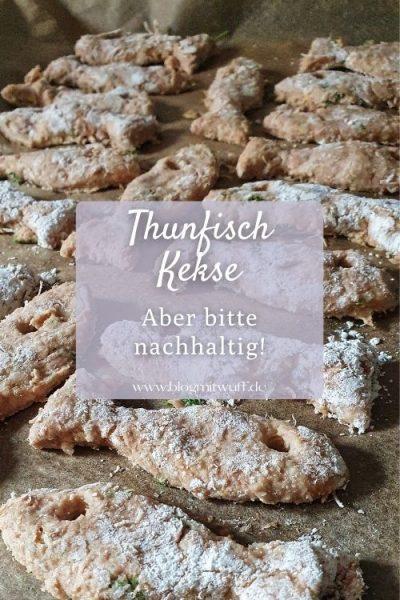 Thunfisch Kekse für Hunde Pin