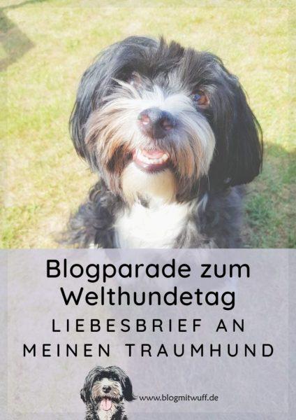 Pin zu Blogparade zum Welthundetag Liebesbrief an meinen Traumhund